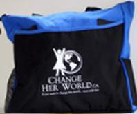CHW Two-Tone Tote Bag