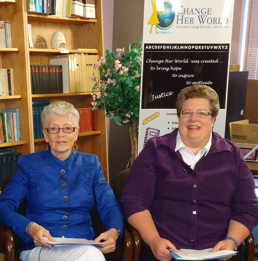 Change Her World Co-Founders: Linda Willis and Carol Hamilton