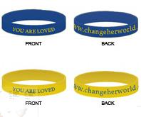 Change Her World Bracelets